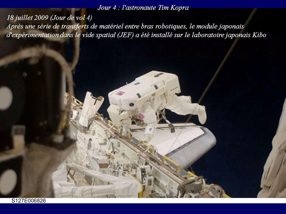 Jour 4 : l astronaute Tim Kopra