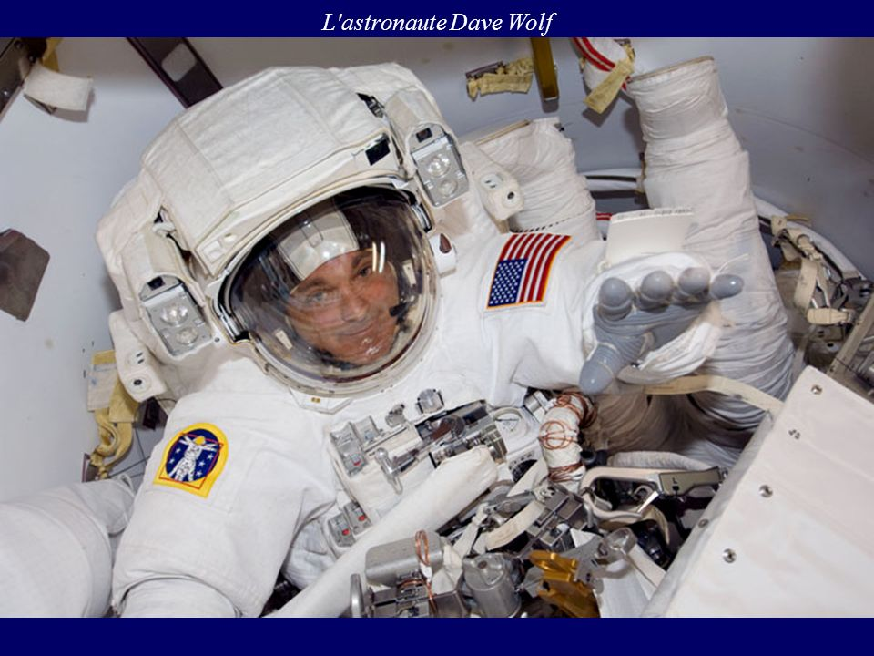 L astronaute Dave Wolf