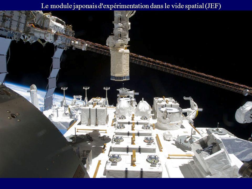 Le module japonais d expérimentation dans le vide spatial (JEF)