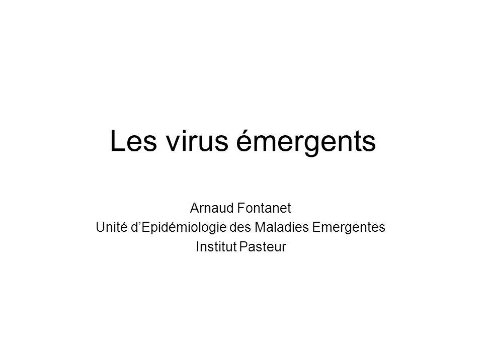 Unité d'Epidémiologie des Maladies Emergentes