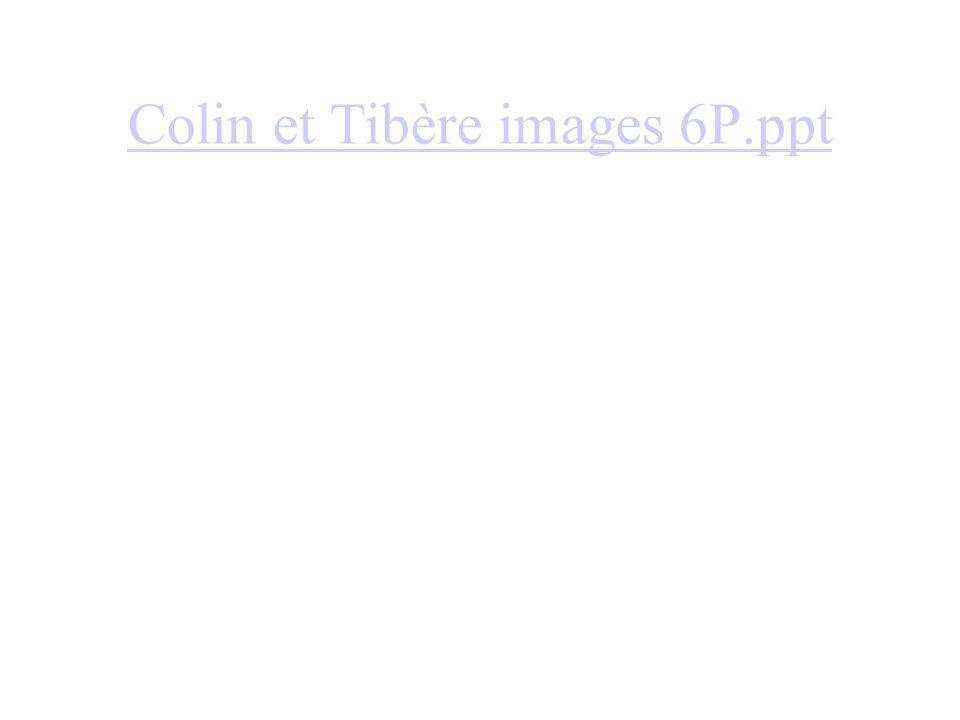 Colin et Tibère images 6P.ppt
