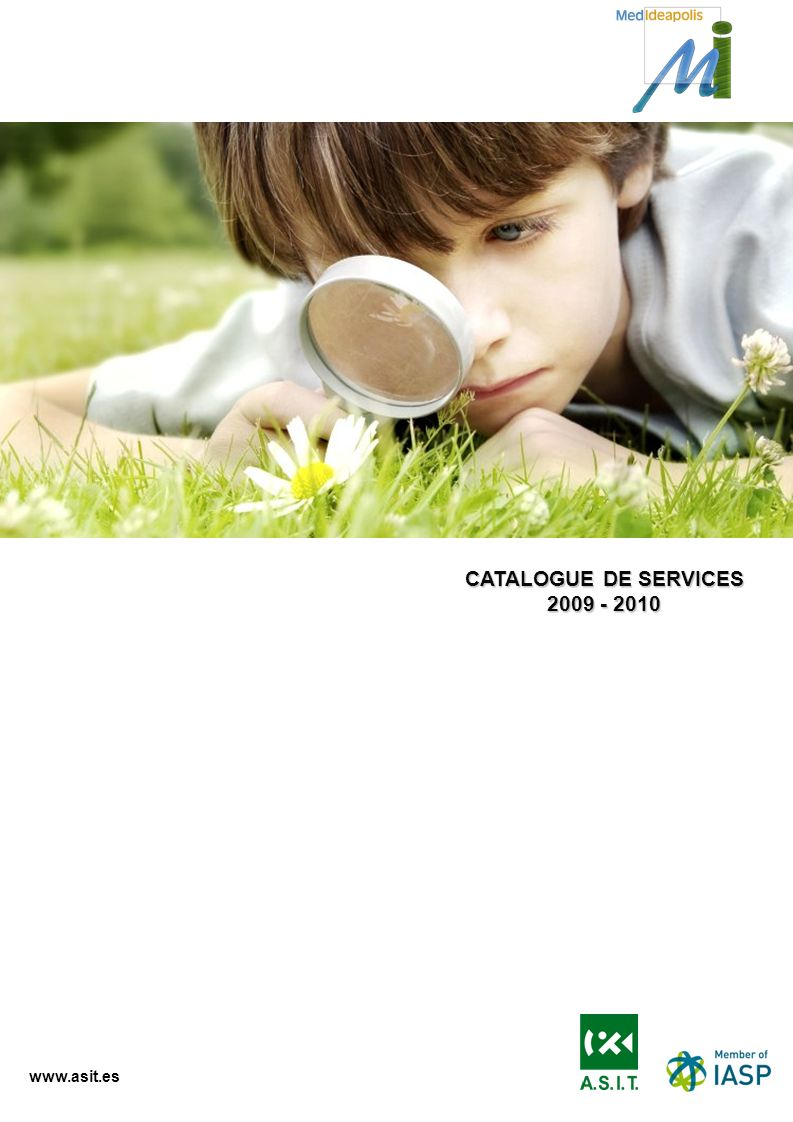 CATALOGUE DE SERVICES 2009 - 2010