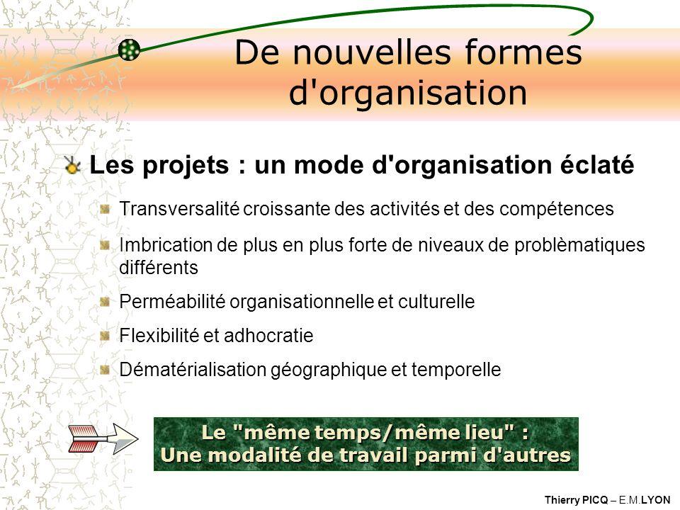 De nouvelles formes d organisation