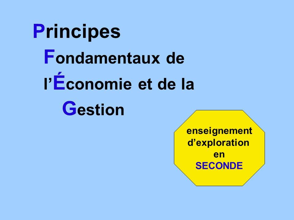 Principes Fondamentaux de Gestion l'Économie et de la enseignement
