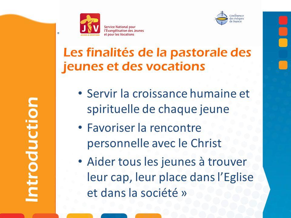 Les finalités de la pastorale des jeunes et des vocations