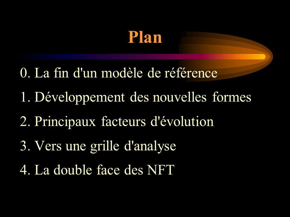 Plan 0. La fin d un modèle de référence