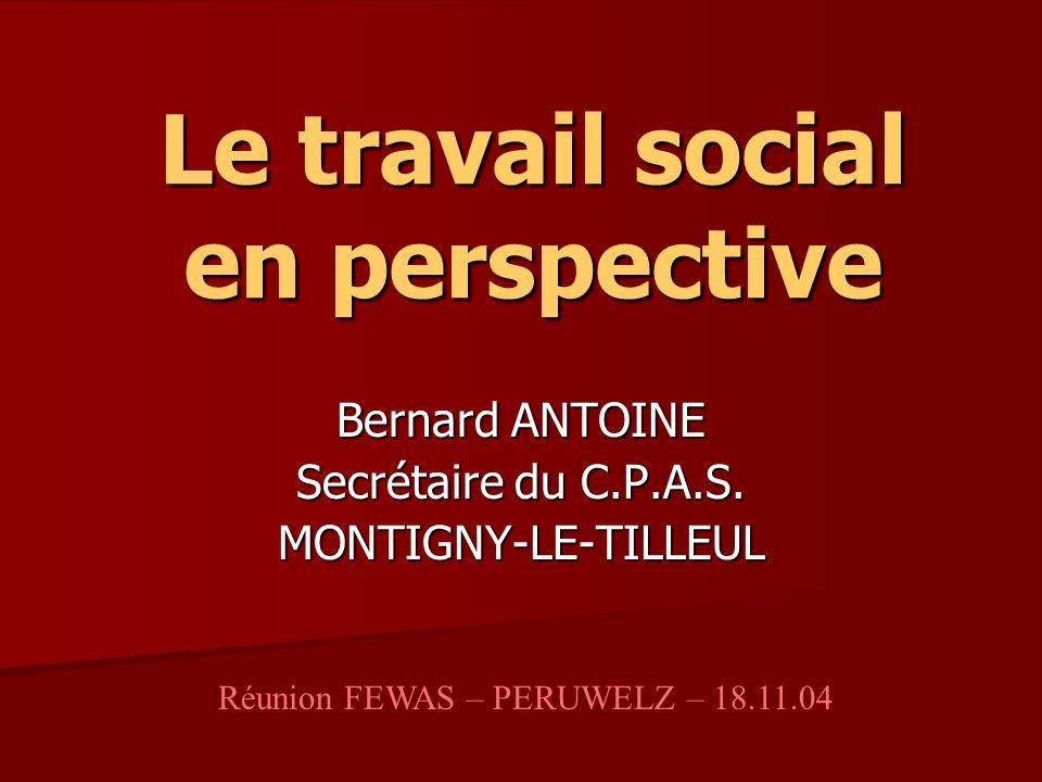 Le travail social en perspective