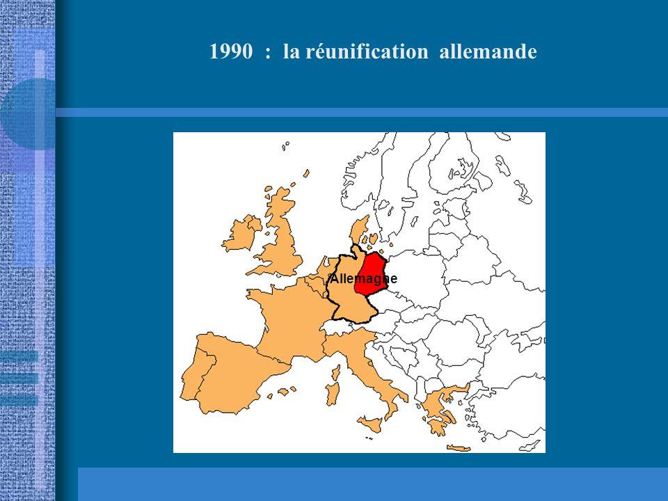 1990 : la réunification allemande