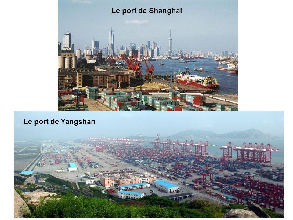 Le port de Shanghai Le port de Yangshan