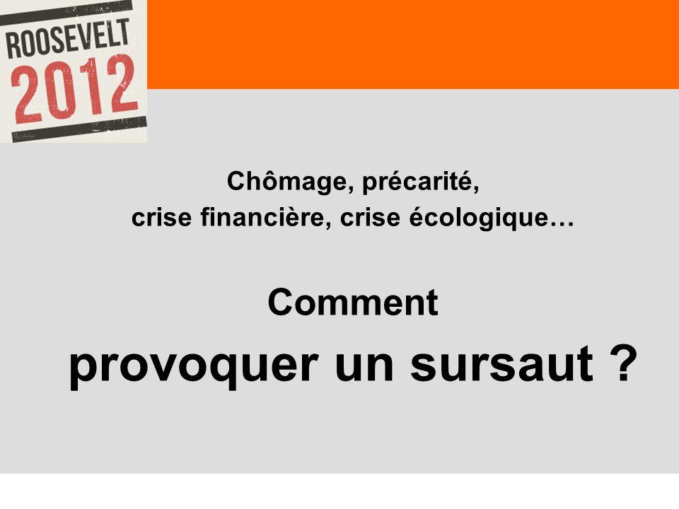 crise financière, crise écologique…