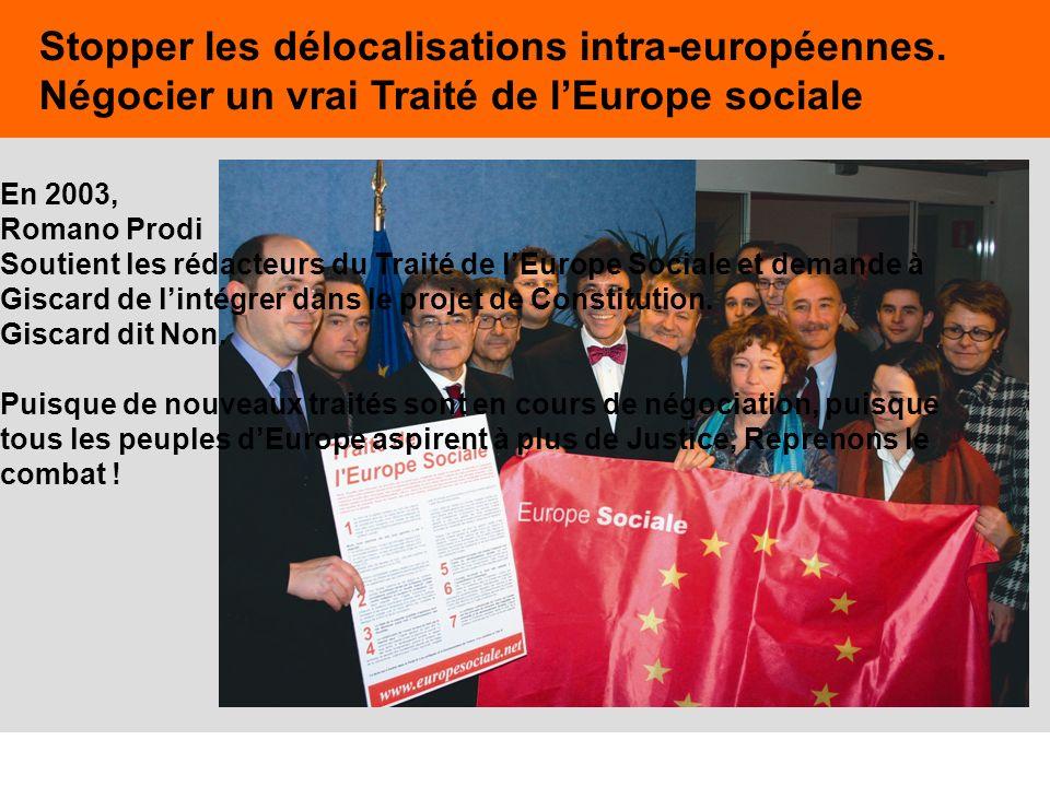Stopper les délocalisations intra-européennes