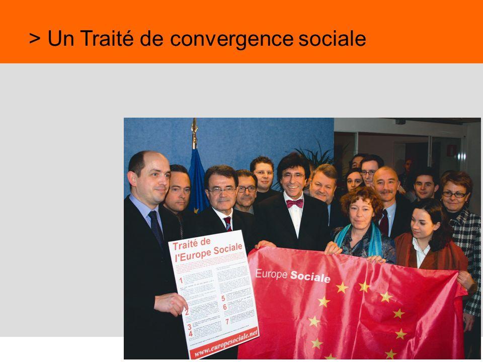 > Un Traité de convergence sociale