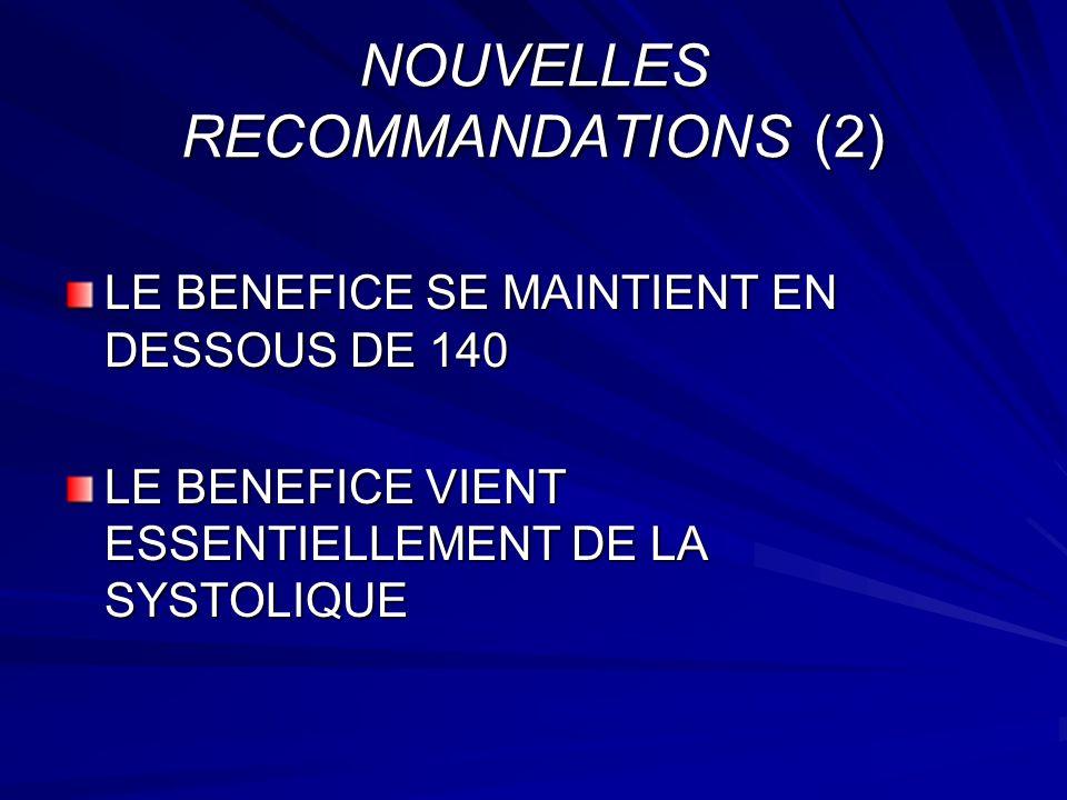 NOUVELLES RECOMMANDATIONS (2)
