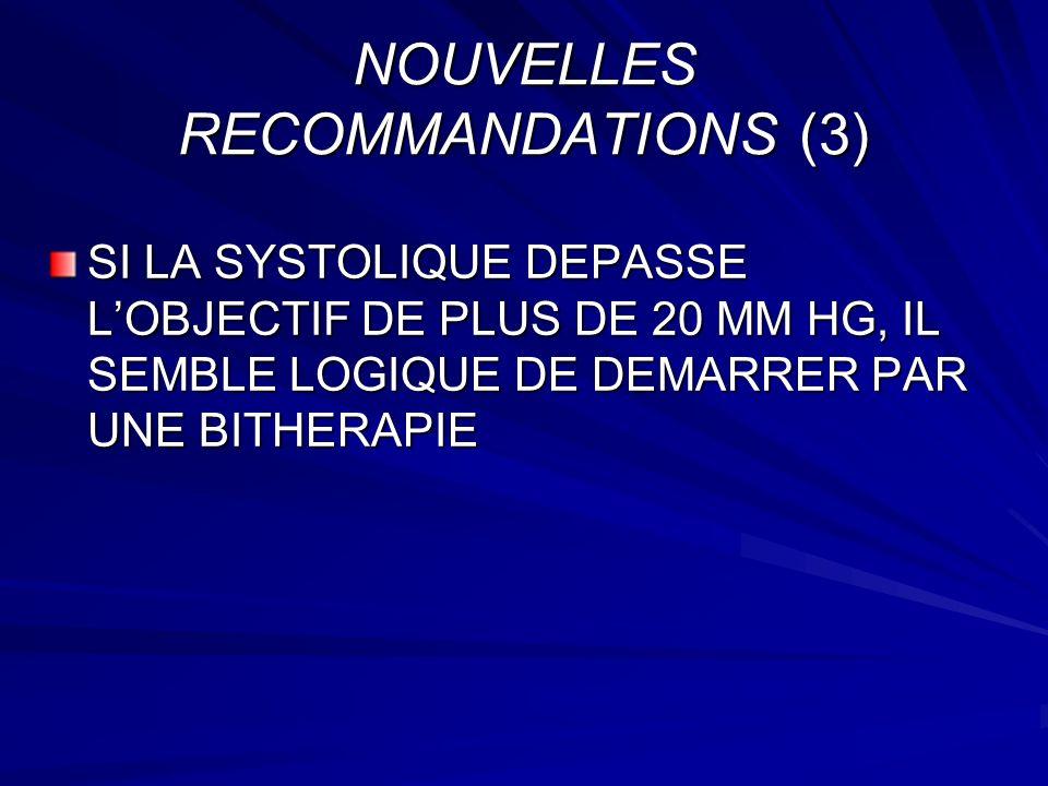 NOUVELLES RECOMMANDATIONS (3)