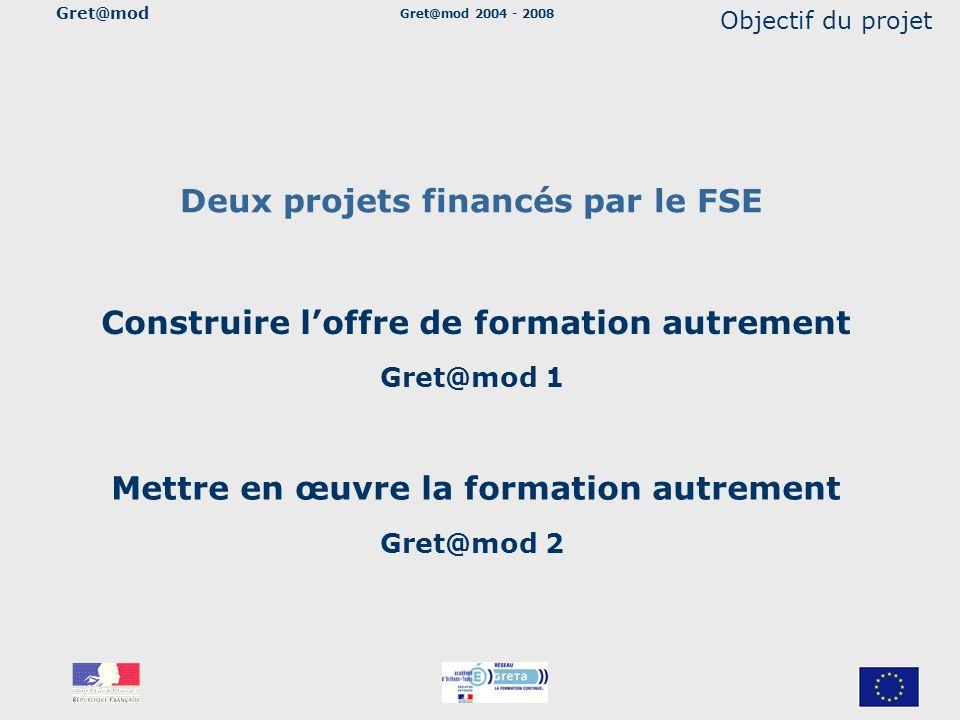Deux projets financés par le FSE