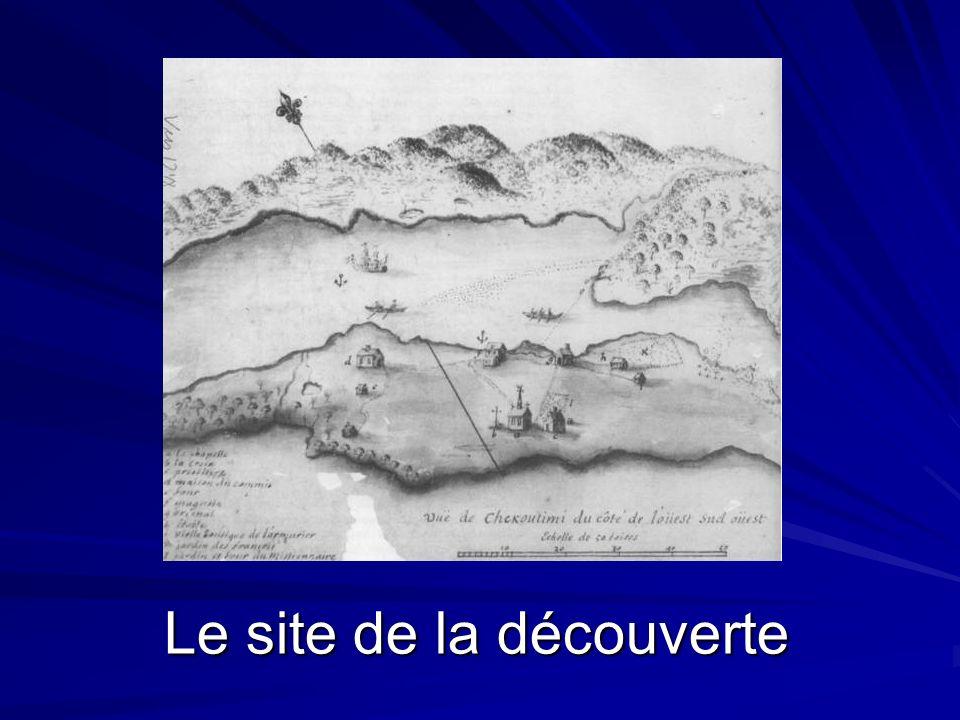 Le site de la découverte