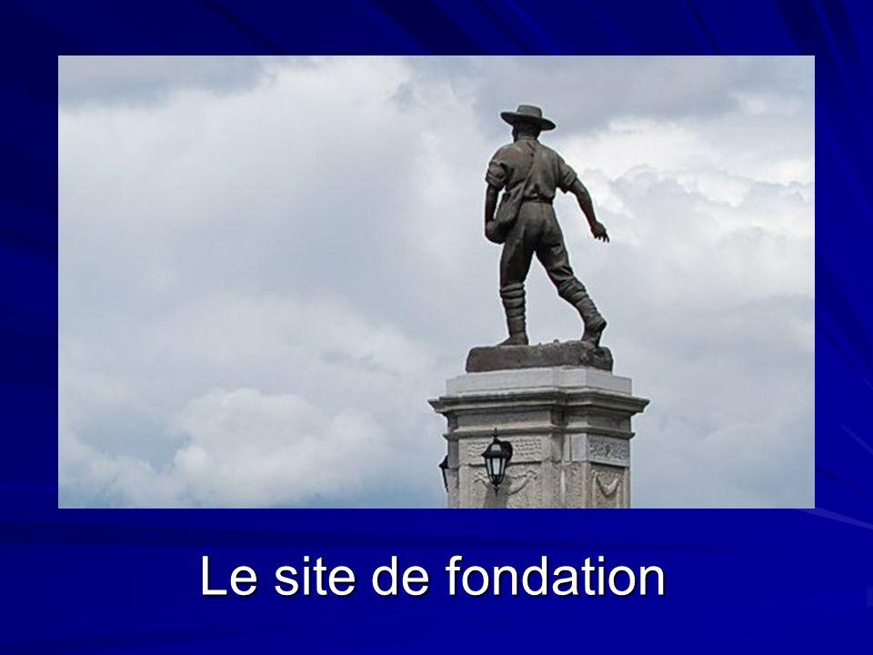Le site de fondation La Baie : Le site de fondation