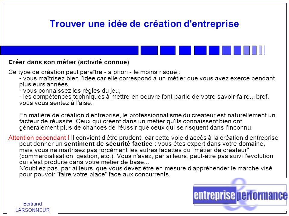 L idee ppt video online t l charger for Trouver une idee pour creer son entreprise