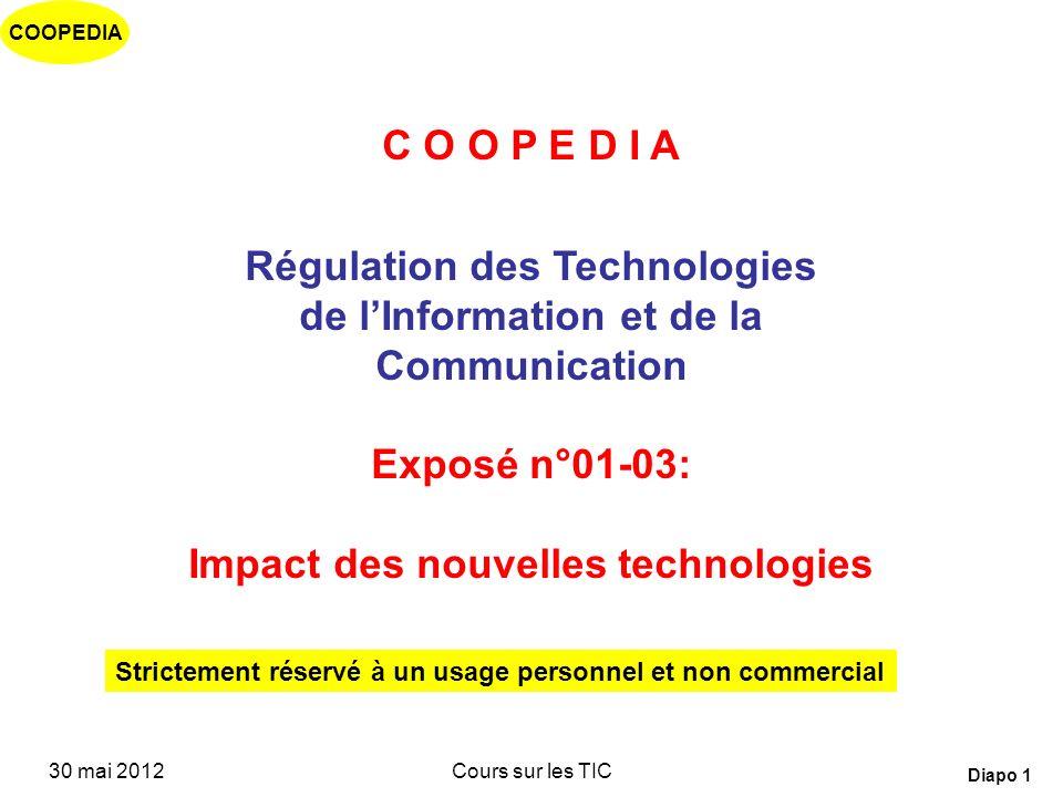 Régulation des Technologies de l'Information et de la Communication