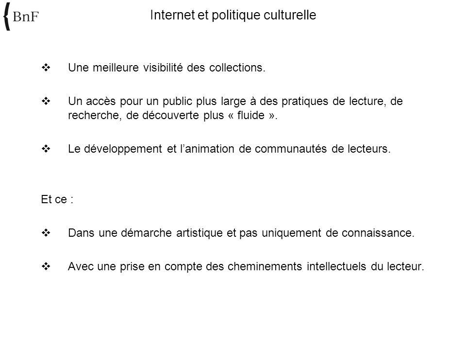 Internet et politique culturelle