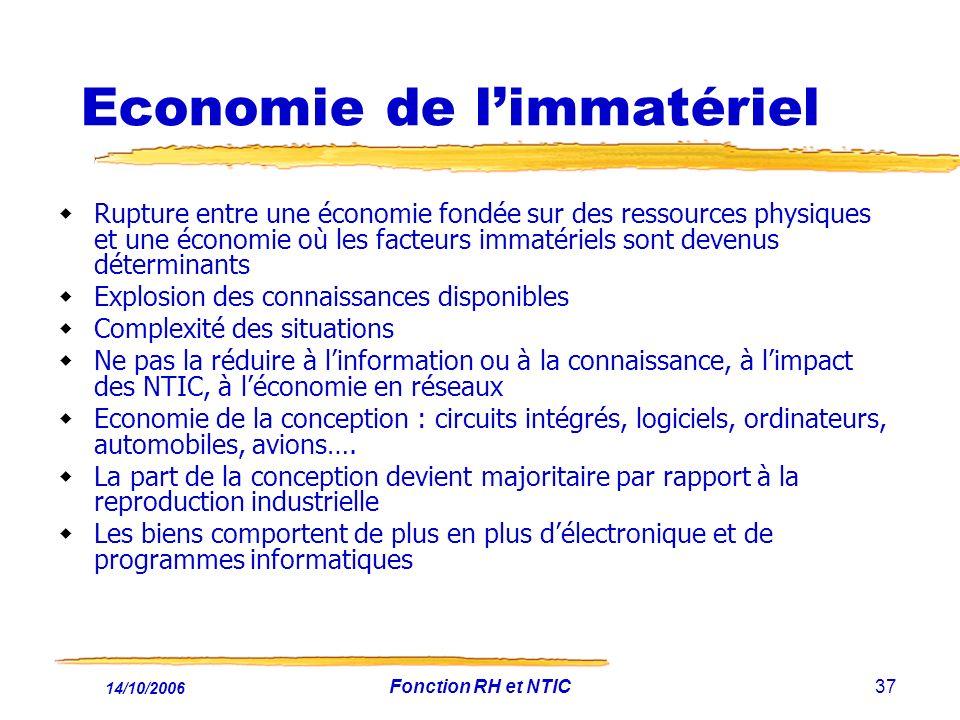 Economie de l'immatériel