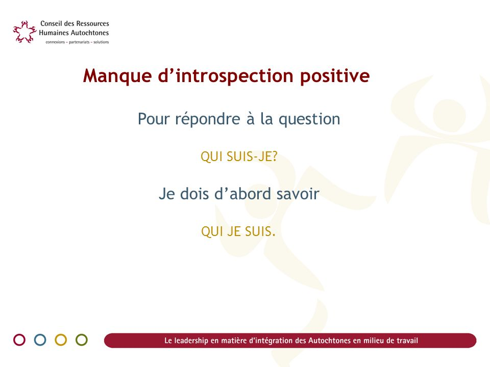 Manque d'introspection positive