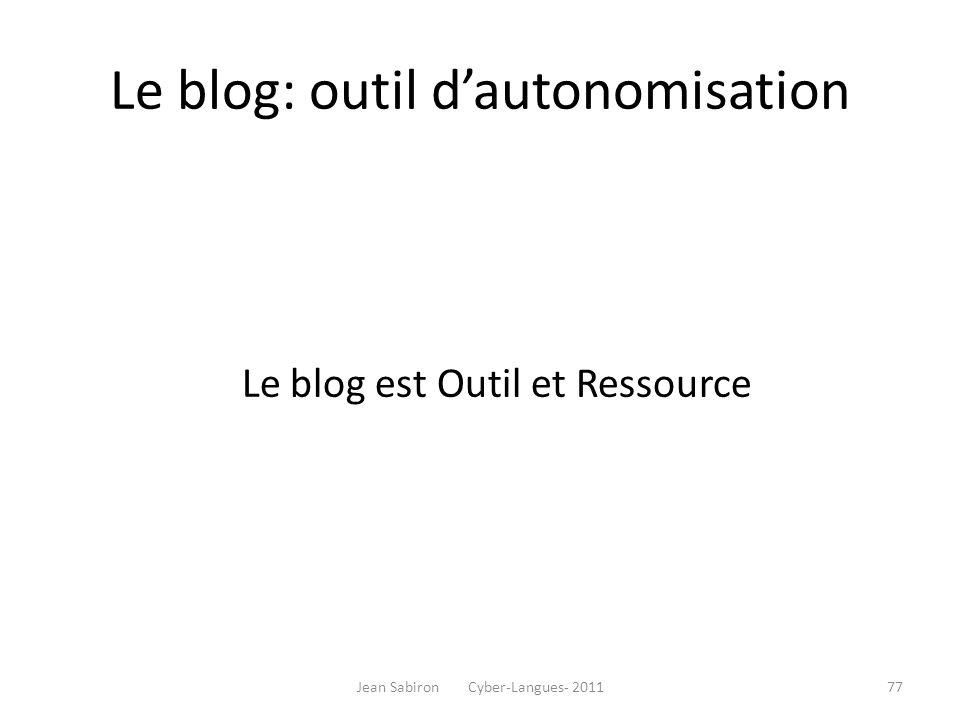Principes pratiques d'approvisionnement du blog (Thot)