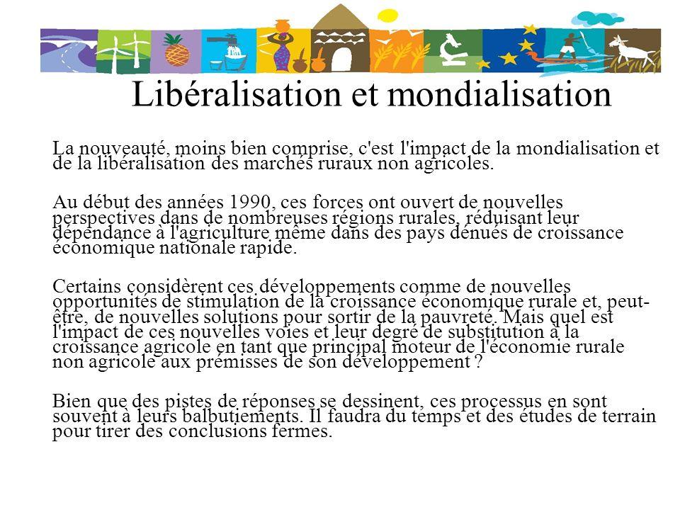 Libéralisation et mondialisation