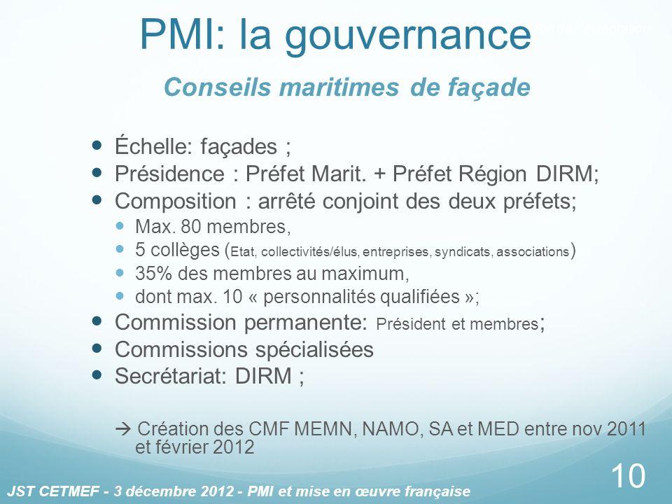 Conseils maritimes de façade