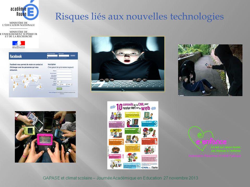 Risques liés aux nouvelles technologies
