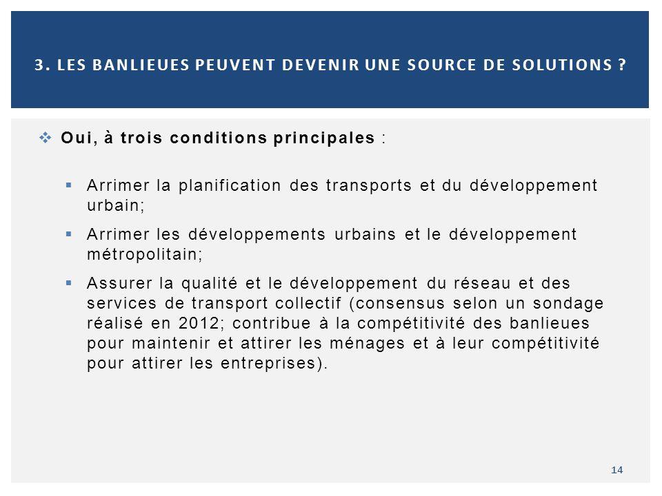 3. Les banlieues peuvent devenir une source de solutions