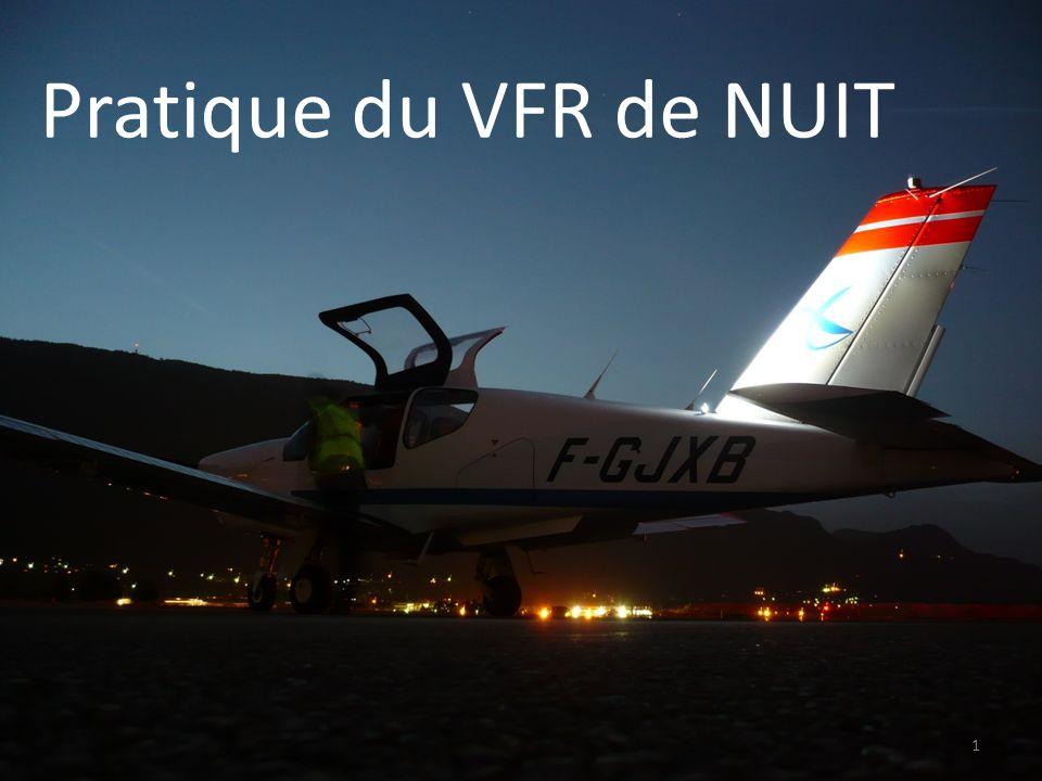 Pratique du VFR de NUIT