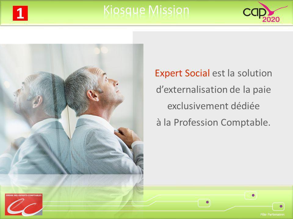 Expert Social est la solution d'externalisation de la paie exclusivement dédiée à la Profession Comptable.