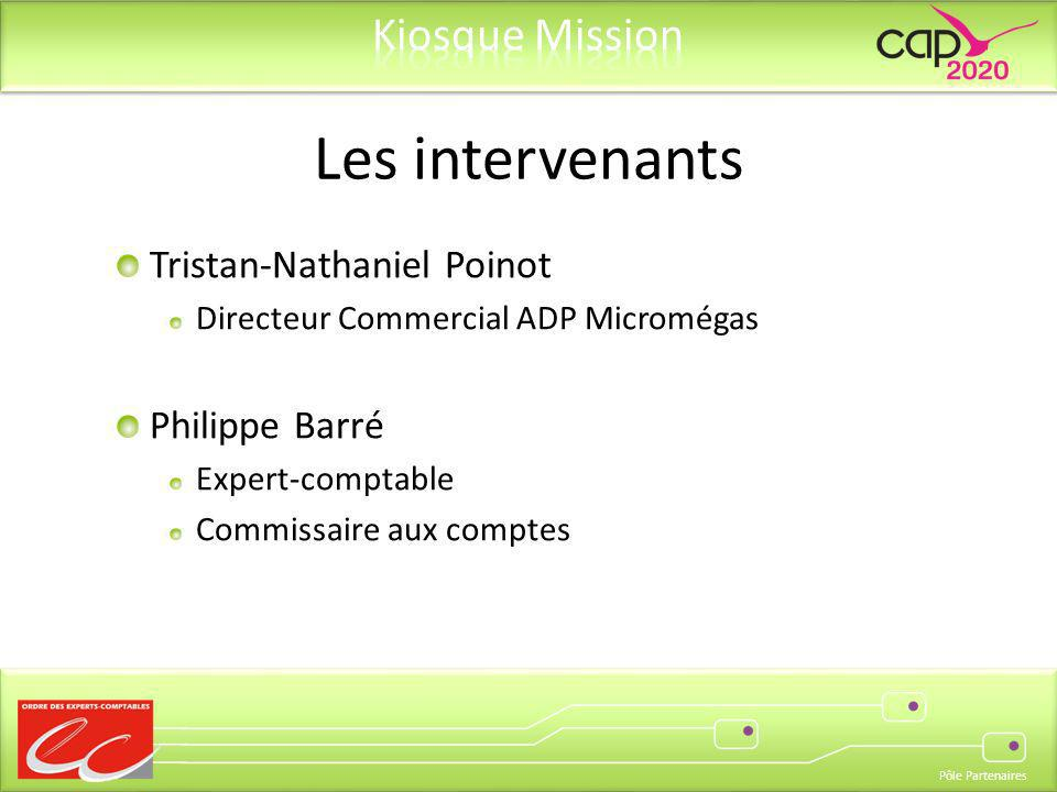 Les intervenants Tristan-Nathaniel Poinot Philippe Barré