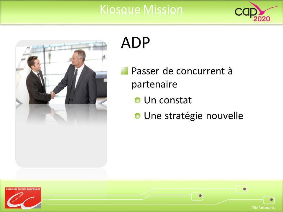 ADP Passer de concurrent à partenaire Un constat