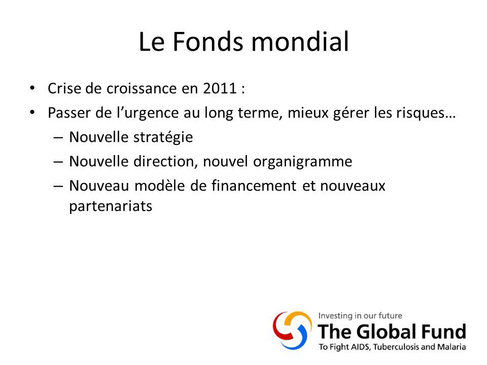 Le Fonds mondial Crise de croissance en 2011 :