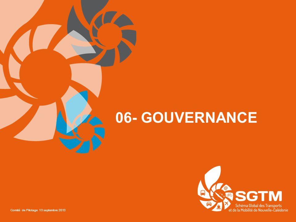 06- Gouvernance Comité de Pilotage 13 septembre 2013