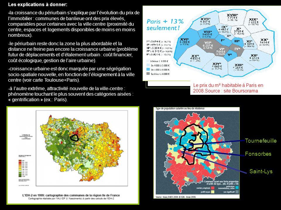 Tournefeuille Fonsorbes Saint-Lys Les explications à donner: