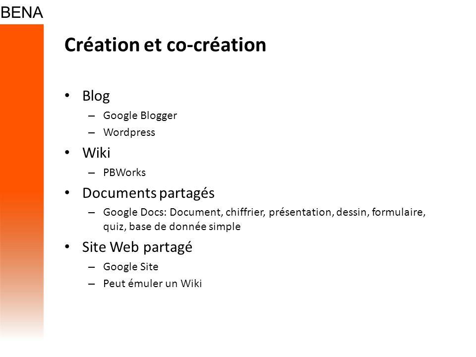Création et co-création