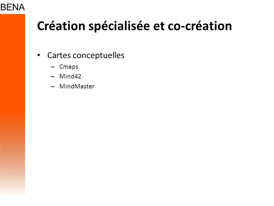 Création spécialisée et co-création