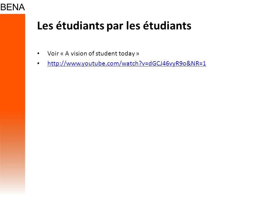 Les étudiants par les étudiants