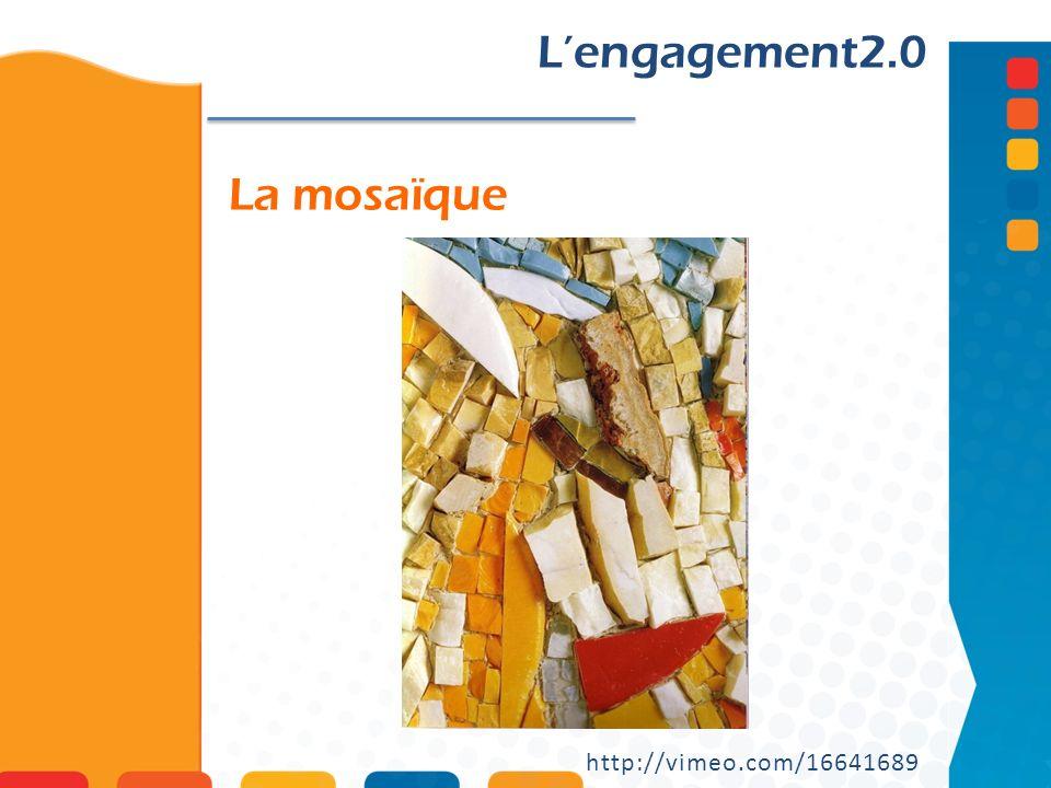 L'engagement2.0 La mosaïque http://vimeo.com/16641689