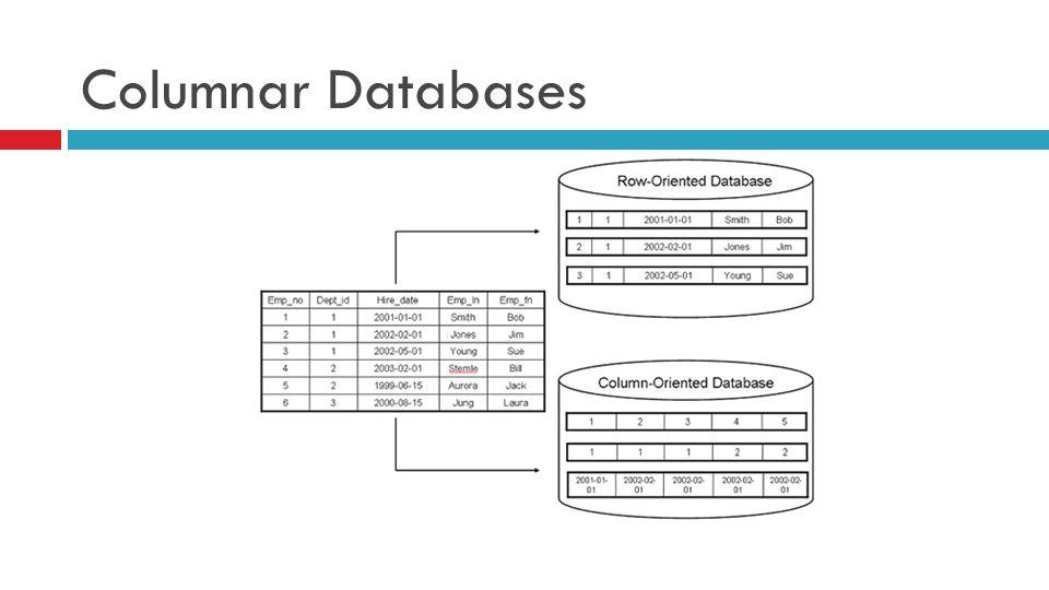 Columnar Databases