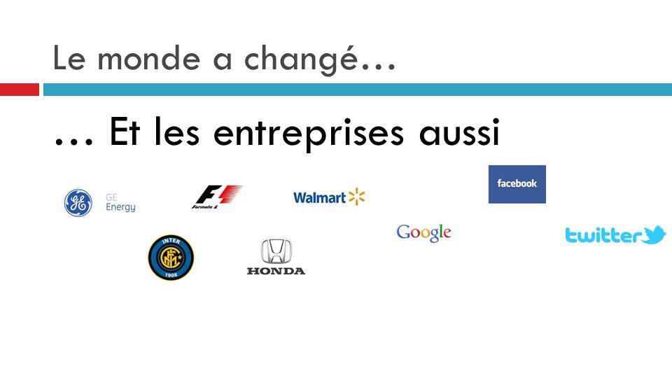 … Et les entreprises aussi