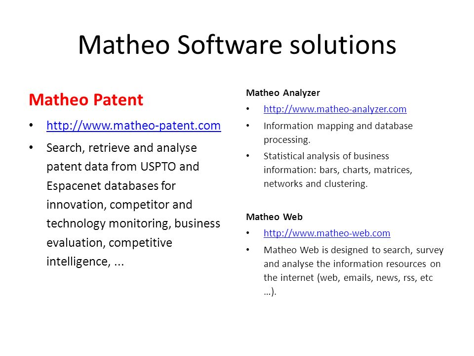 Matheo Software solutions