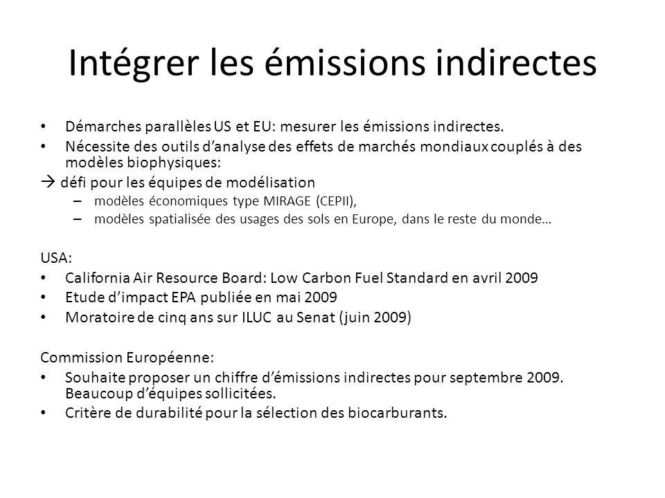 Intégrer les émissions indirectes