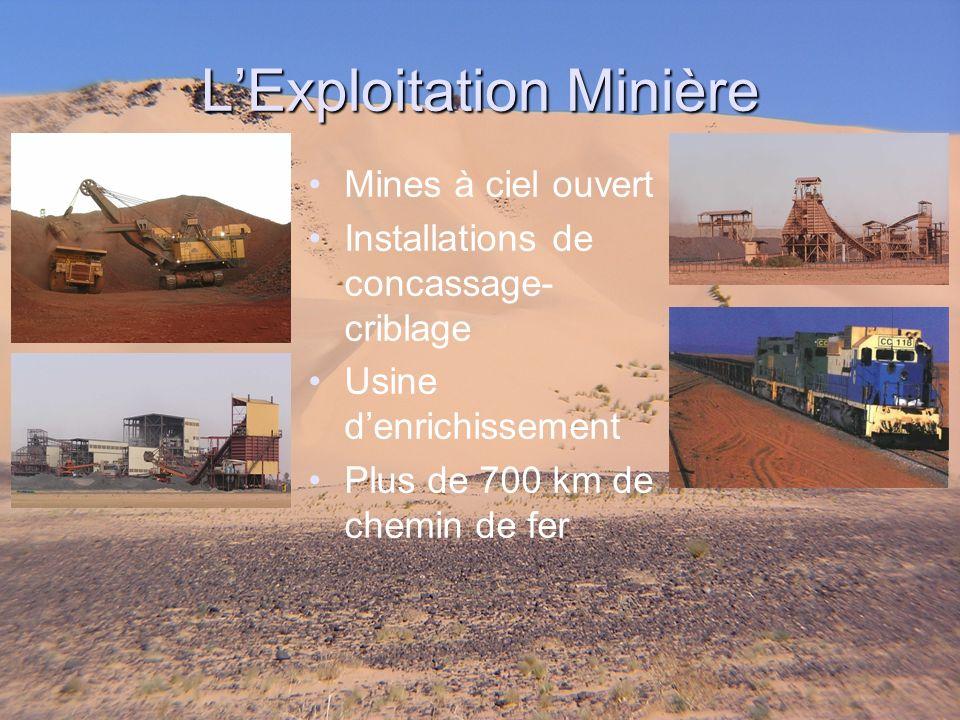 L'Exploitation Minière