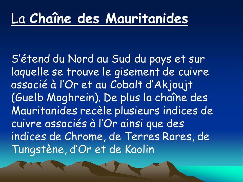 La Chaîne des Mauritanides