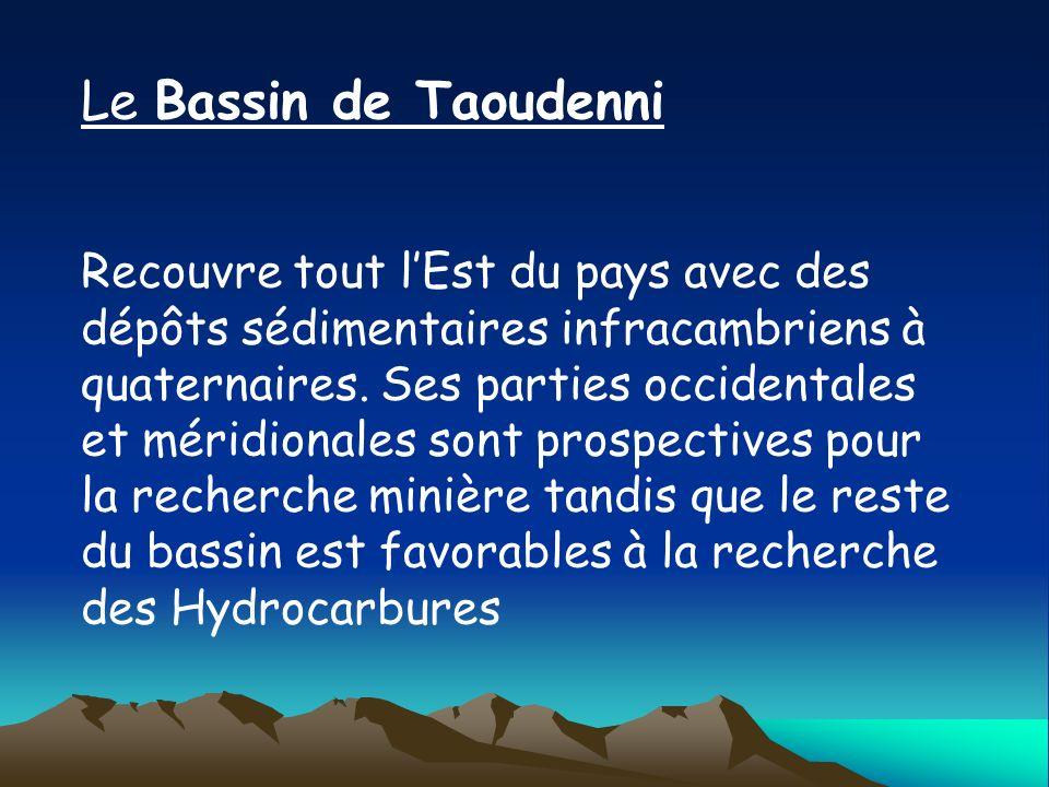 Le Bassin de Taoudenni