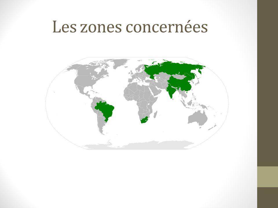 Les zones concernées